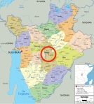 Gitega Map
